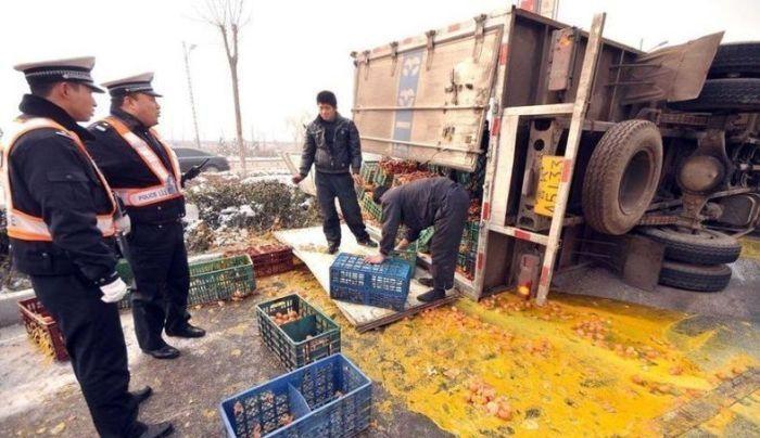 Большой китайский омлет (5 фото)