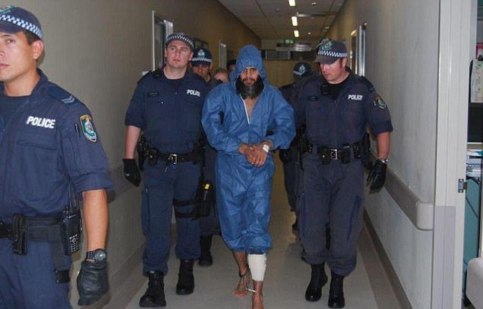 Самый разыскиваемый преступник Австралии Наден скрывался в зоопарке (2 фото)