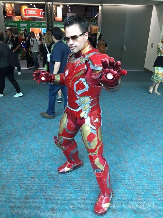 Косплееры фестиваля Comic-Con 2017 (38 фото)