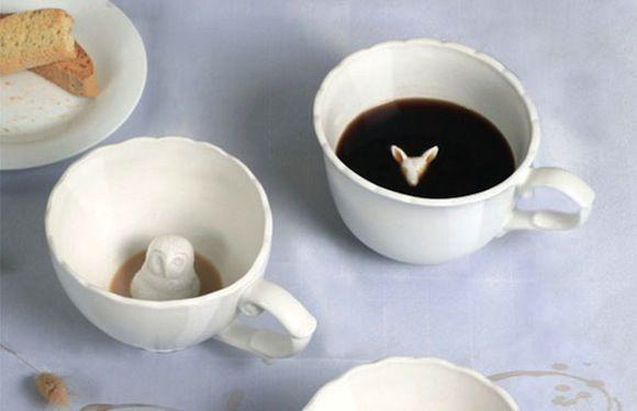Чашки с сюрпризом (6 фото)