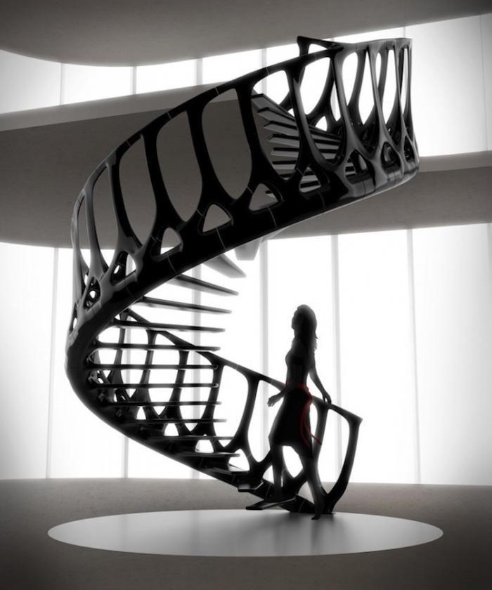 Самые необычные дизайнерские лестницы (16 фото)