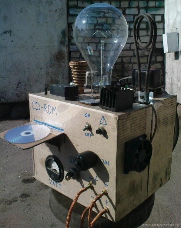 Ламповый усилитель за 10000 баксов (7 фото)