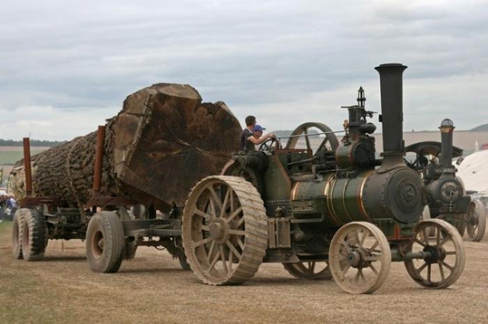Выставка паровых машин – Great Dorset Steam Fair (23 фото)
