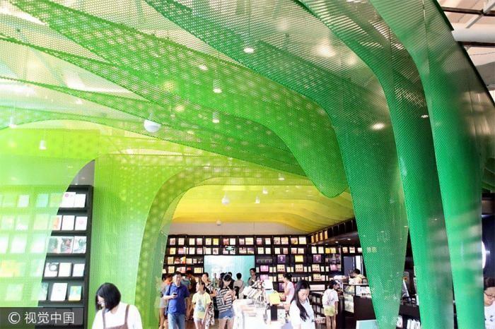 Невероятный интерьер книжного магазина в Китае (8 фото)
