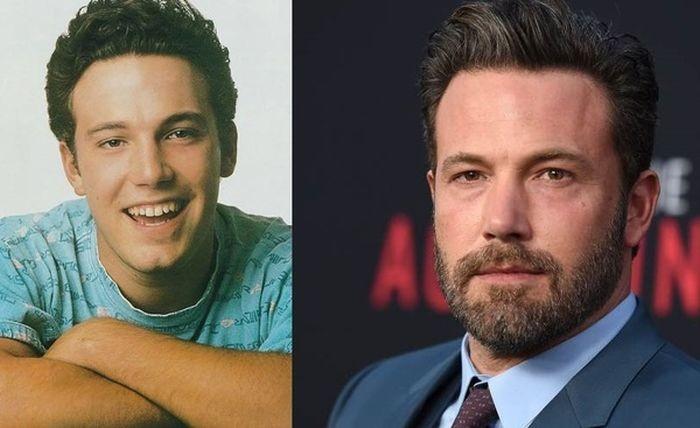 Известные актеры в молодости и сейчас (10 фото)