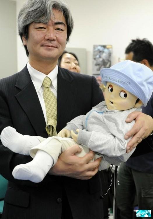 Ребенок-робот из Японии (7 фото)