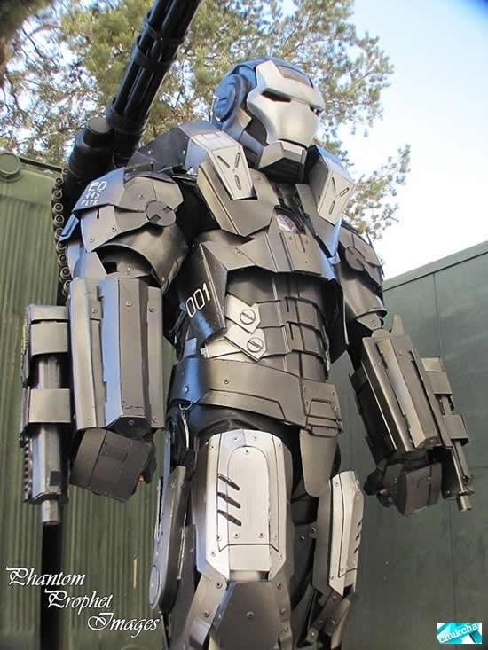 Супер костюм железного человека (11 фото)