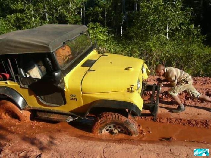 Самая худшая дорога в Бразилии (45 фото)