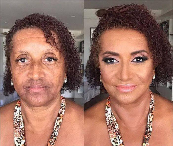 Чудодейственная сила макияжа (41 фото)