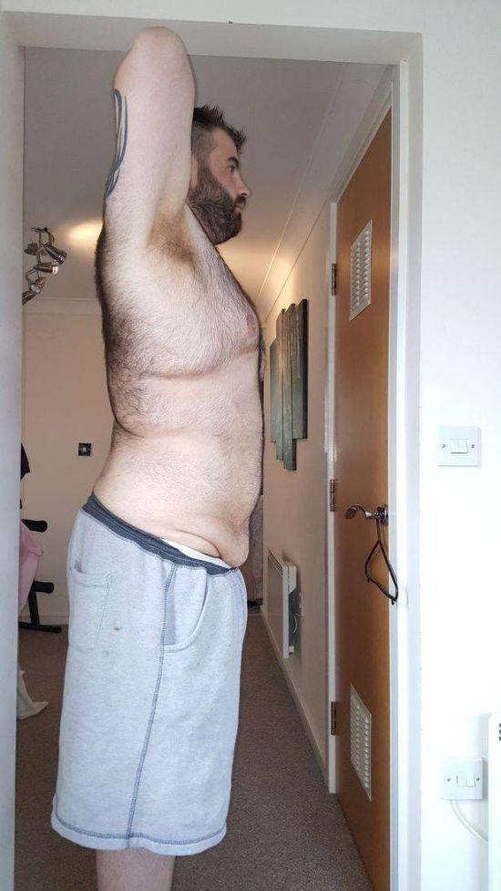 Парень сбросил 73 кг (7 фото)
