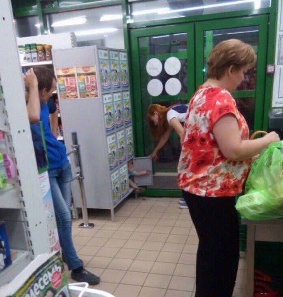 Фото, которые возможно было сделать только в России (35 фото)