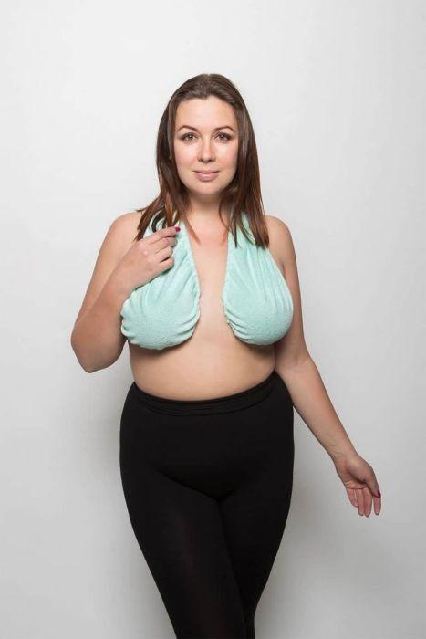 Гамак-полотенце для груди набирает популярность (17 фото)