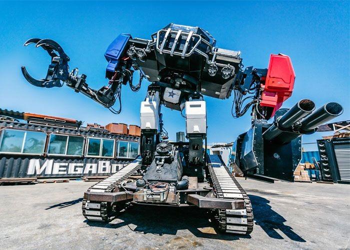 Компания MegaBots представила боевого робота Eagle Prime (9 фото)