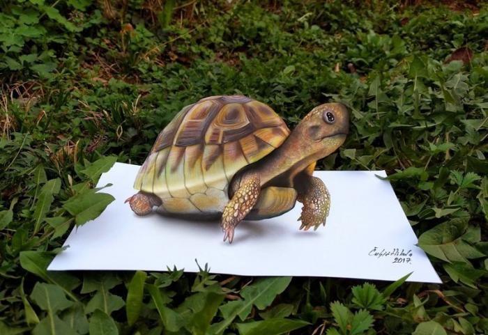 Удивительные 3D-рисунки от сербского художника (29 фото)