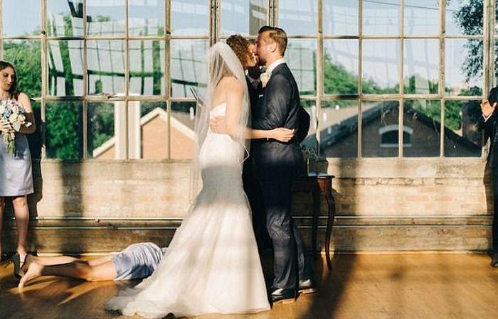 Забавные фото со свадеб (17 фото)