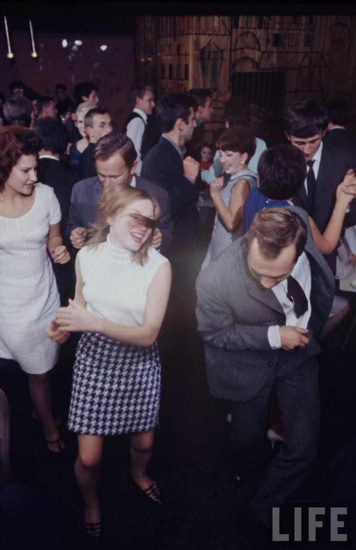 Советская молодежь в объективе Bill Eppridge (29 фото)