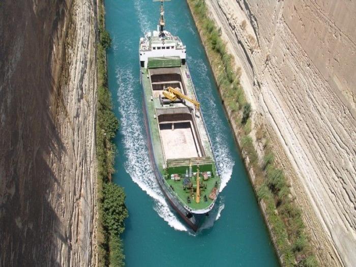 Коринфский канал (11 фото)