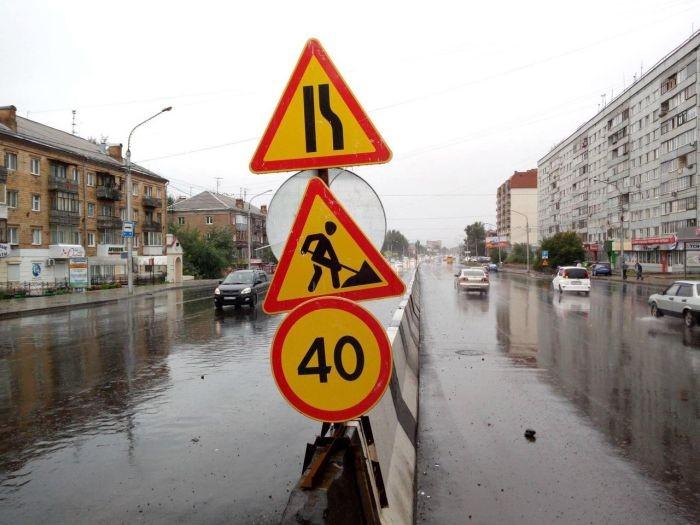 Бетонные блоки сыграли роль дамбы в Красноярске (3 фото)