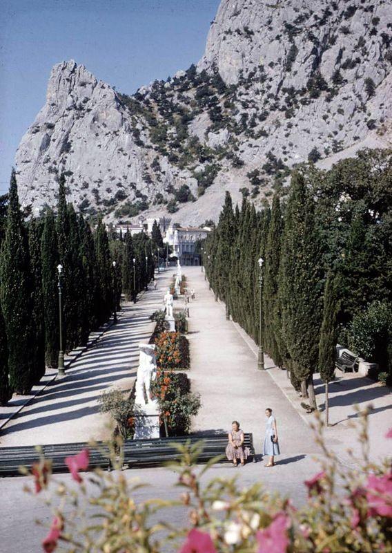 Крым 1958 года в цвете (23 фото)