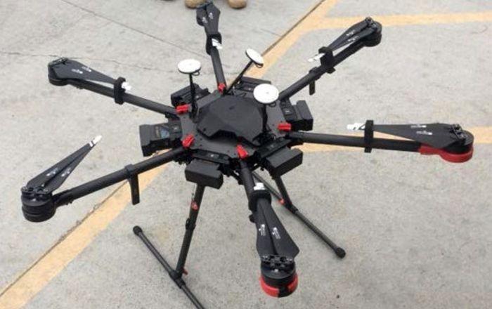 Американец переправлял наркотики из Мексики с помощью дрона (2 фото)