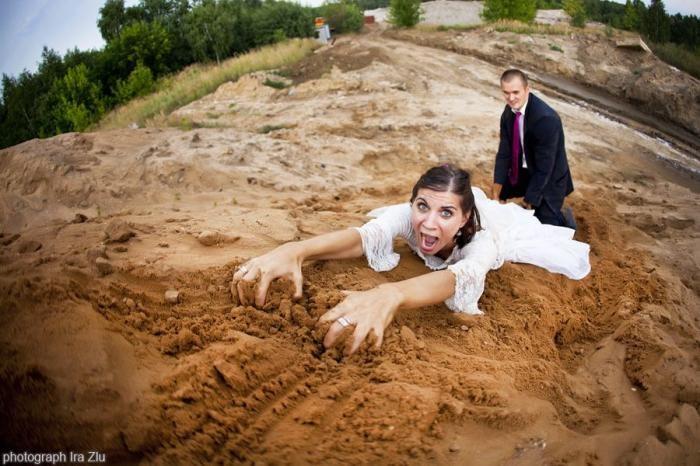 Забавные свадебные фото (15 фото)