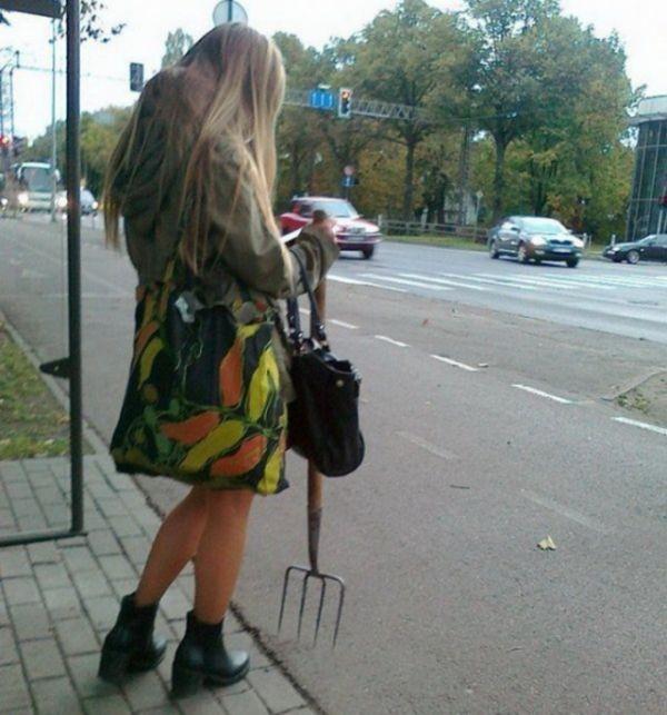 Городские чудаки (32 фото)