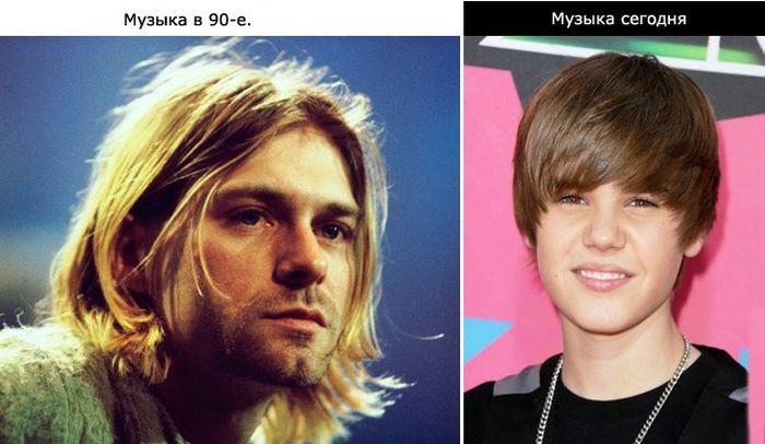 Тогда и сейчас (9 фото)