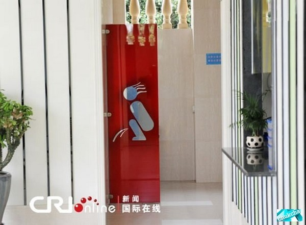 Крутой туалет в Китае (6 фото)