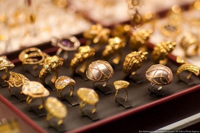 Дубайский золотой рынок (38 фото)