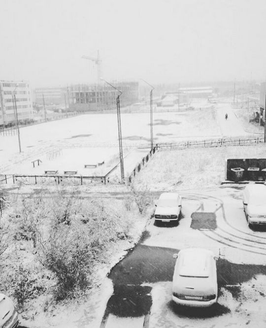 В Якутии выпал первый августовский снег (16 фото)
