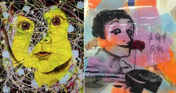 Джим Керри – талантливый художник (11 фото)