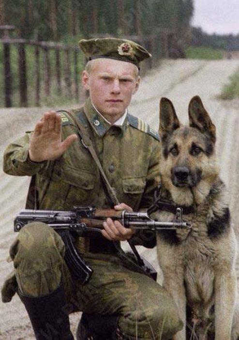 Советские пограничники (38 фото)