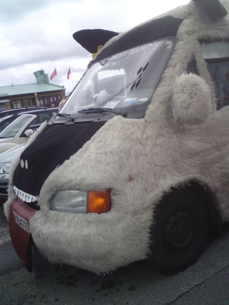 Собачьи машины ( 9 фото)