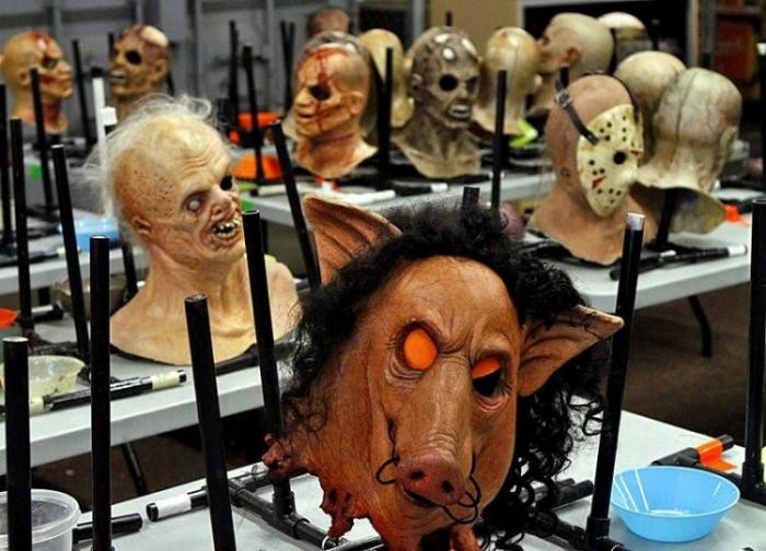 Комната ужасов Universal Studios (9 фото)