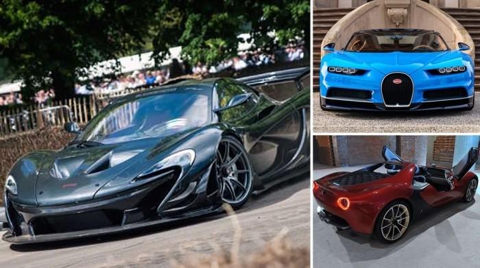 Самые дорогие автомобильные новинки 2017 (8 фото)
