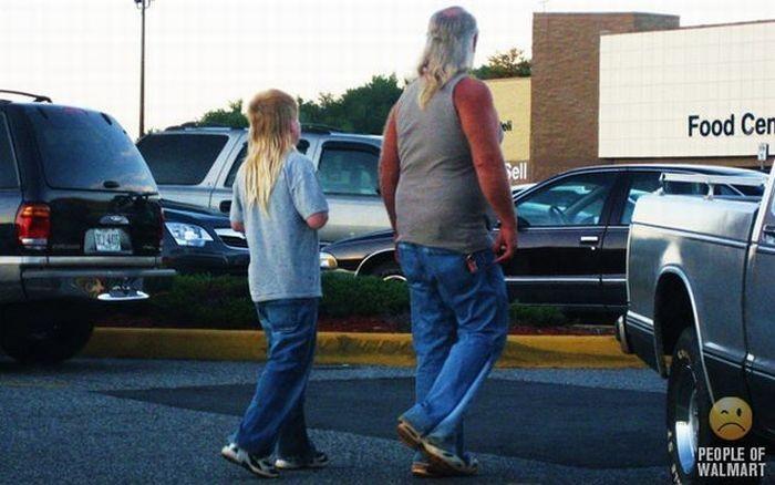 Странные посетители американских супермаркетов (41 фото)