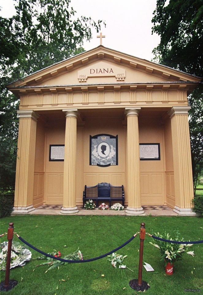 Почему могилу Дианы пытались четырежды ограбить? (3 фото)
