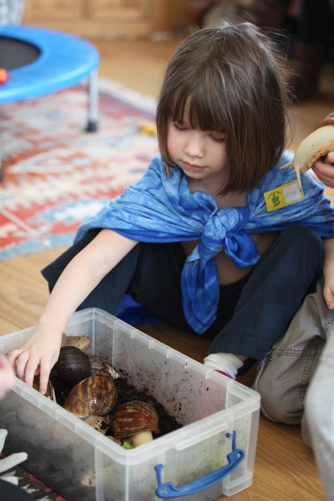 Гениальные картины пятилетней художницы (20 фото)