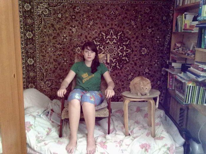 Очень странные девушки (19 фото)