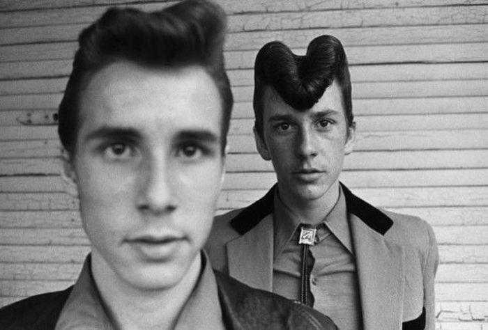 Тедди-бои - британская молодежная субкультура 50-х (23 фото)