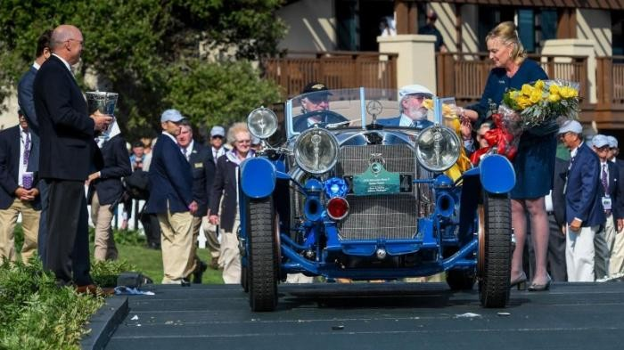 Победителем Конкурса элегантности стал 88-летний Mercedes-Benz (11 фото)