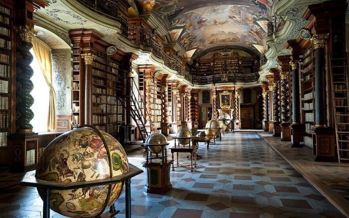 Прогулка по самой красивой библиотеке в мире (8 фото)