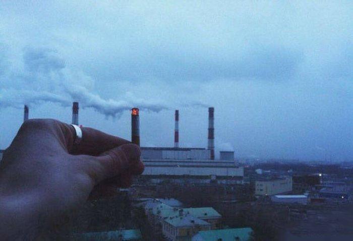 Снимки, которые можно было сделать только в России (39 фото)