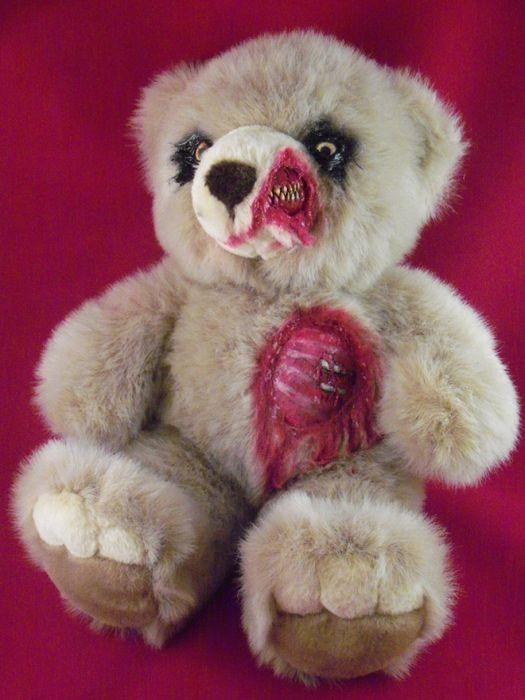 Уникальные зомби-игрушки ручной работы (12 фото)