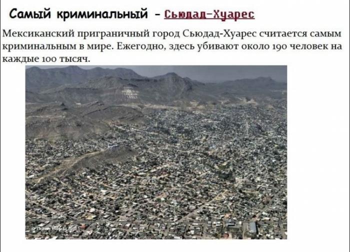 Самые-самые города (14 фото)