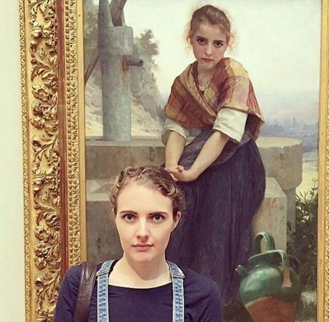 Когда встречаешь своего двойника на картине (16 фото)