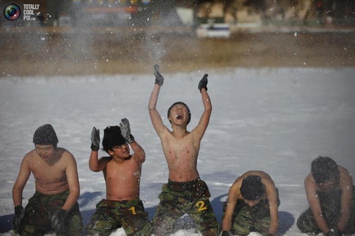 Зимний лагерь для подростков в Южной Корее (11 фото)