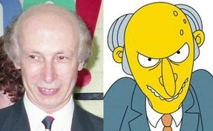 Двойники героев сериала «Симпсоны» из реальной жизни (15 фото)
