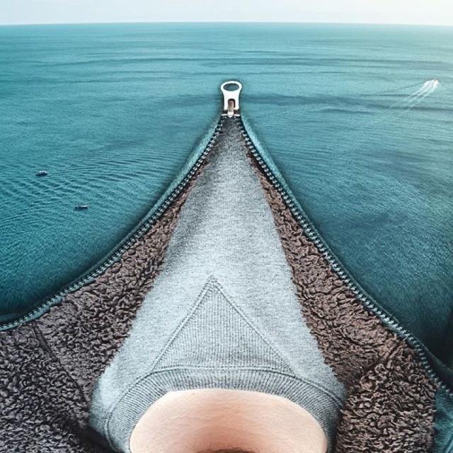Иллюзии от Моники Карвалью: гармония человека и природы (19 фото)