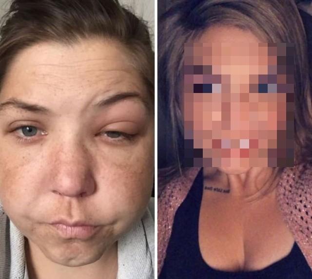 Как изменилась девушка после отказа от алкоголя (2 фото)